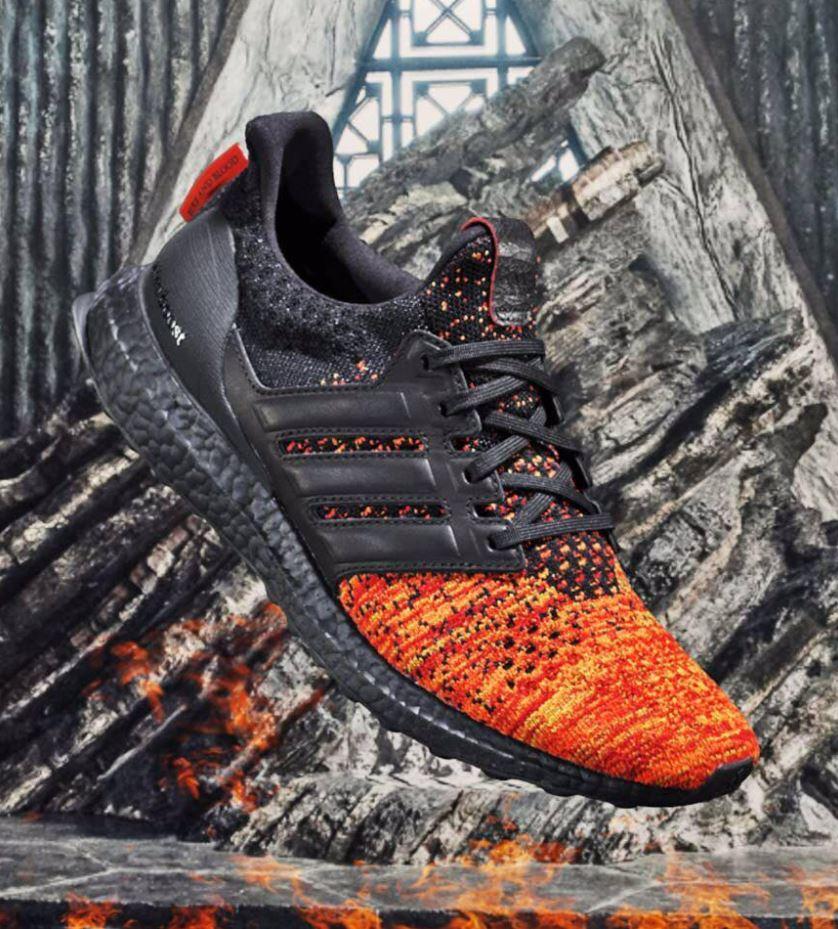 Adidas Ultra Boost 4.0 Game of Thrones Targaryen Dragons