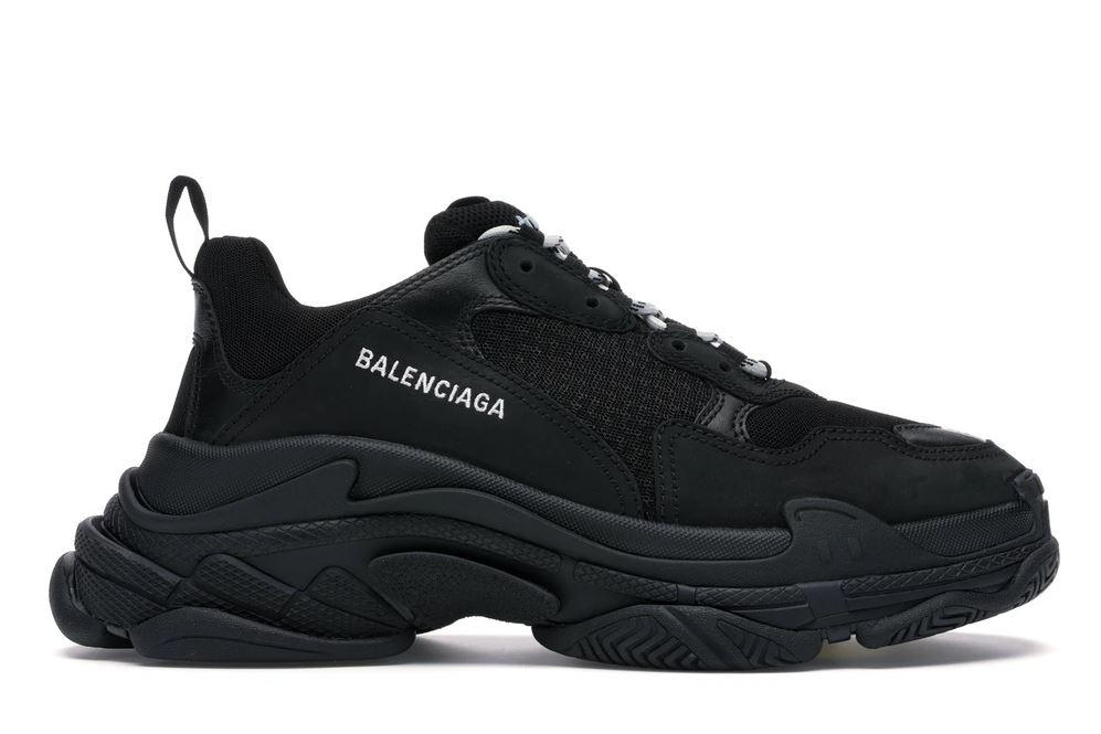 Giày Balenciaga Triple S Black 1
