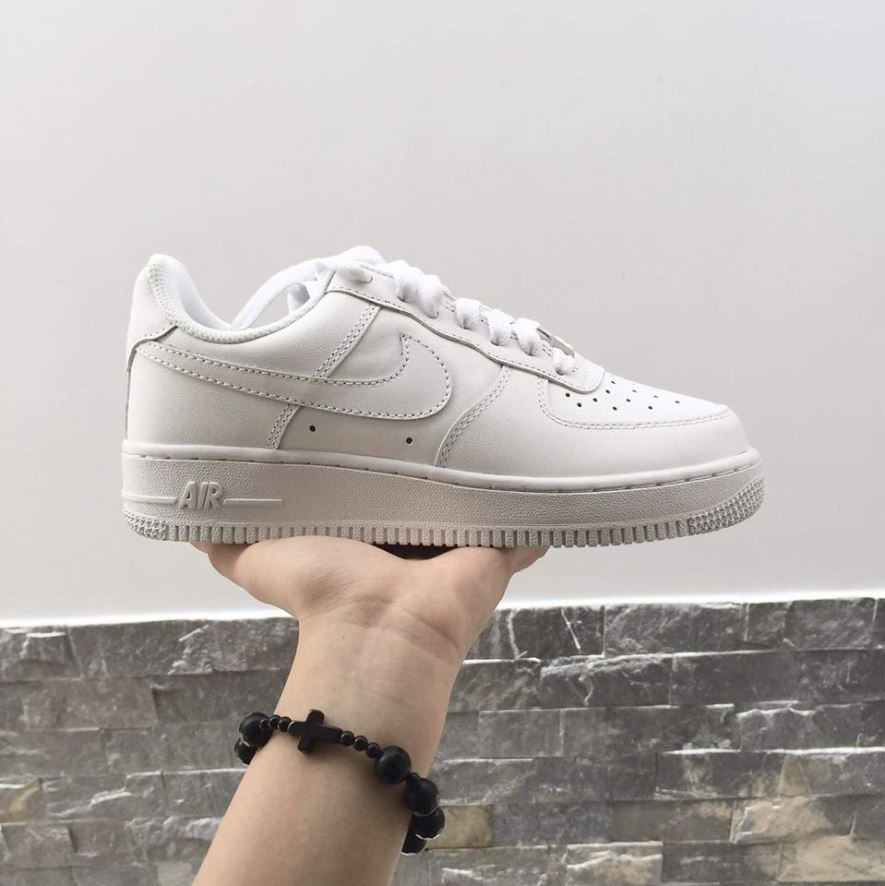 Giày Nike Air Force 1 Low Full Trắng Replica 1:1 3