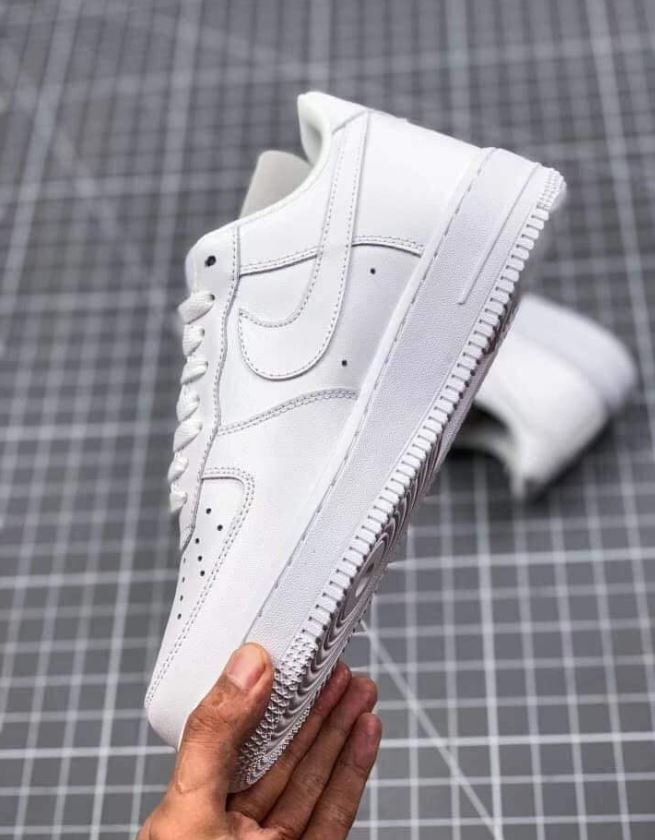 Giày Nike Air Force 1 Low Full Trắng Replica 1:1 5