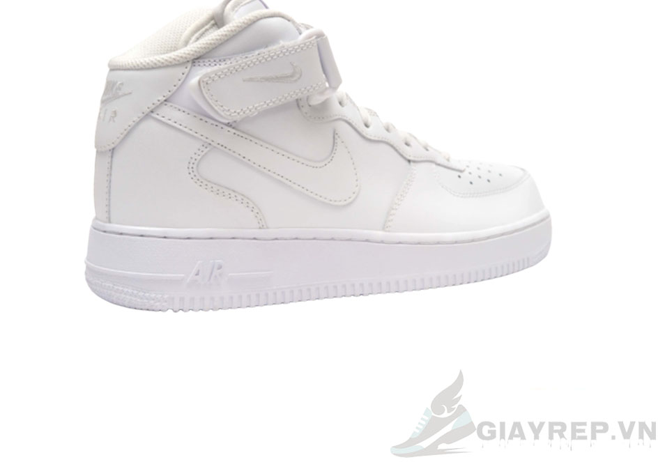 Giày Nike Air Force Mid Full Trắng Cổ Cao 6