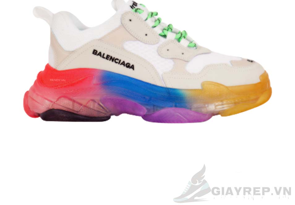 Balenciaga Triple S Clear Sole Trainers Rainbow replica 1:1, Balenciaga Triple S Clear Sole Trainers Rainbow Replica, Balenciaga Triple S Clear Sole Trainers Rainbow Rep 11