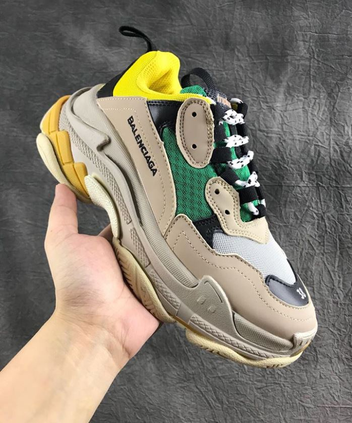 Balenciaga Triple S Yellow Green Vàng Xanh 8