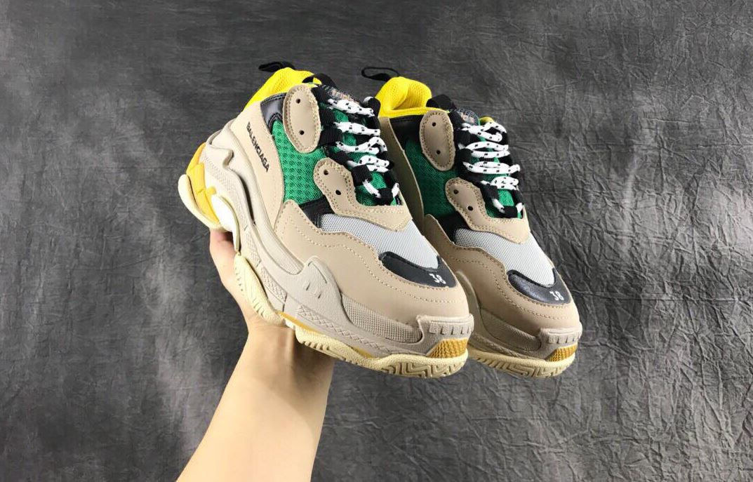 Balenciaga Triple S Yellow Green Vàng Xanh 5