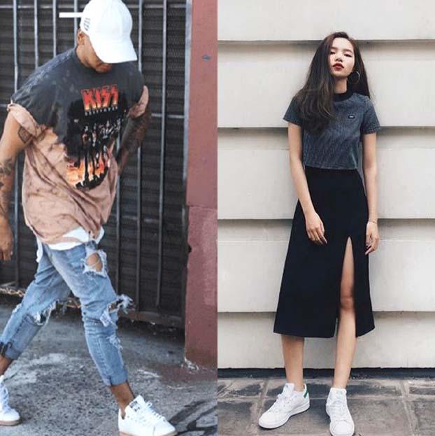 Phối đồ với giày adidas nam, cách Phối đồ với giày adidas, Phối đồ với giày adidas, cách Phối đồ với giày adidas nữ, Phối đồ với giày adidas trắng, cách Phối đồ với giày adidas nam