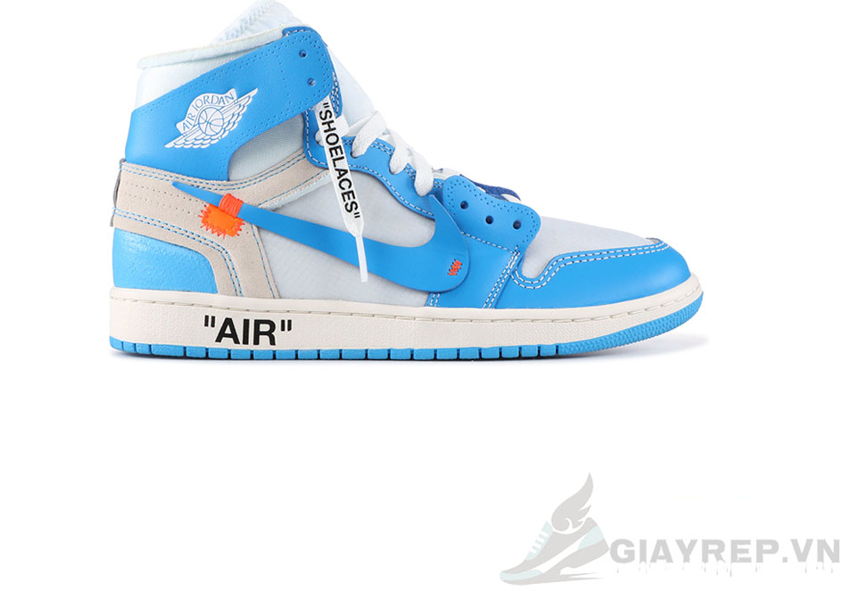 Giày Nike Air Jordan 1 Off White Blue 1