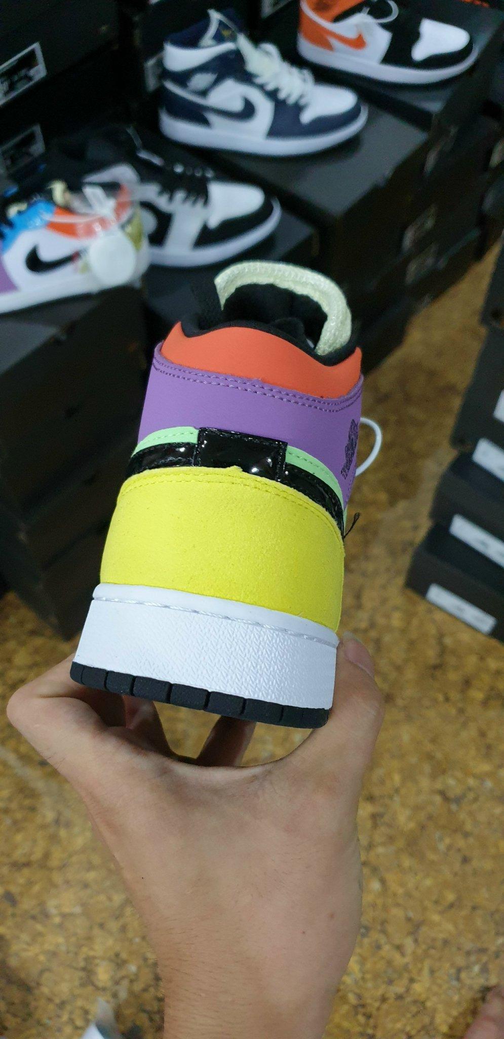 Jordan 1 Mid SE Multi Color  Rep 1:1, Jordan 1 Mid SE Multi Color  SF, Jordan 1 Mid SE Multi Color  Super fake, Jordan 1 Mid SE Multi Color  f1, Jordan 1 Mid SE Multi Color  Replica