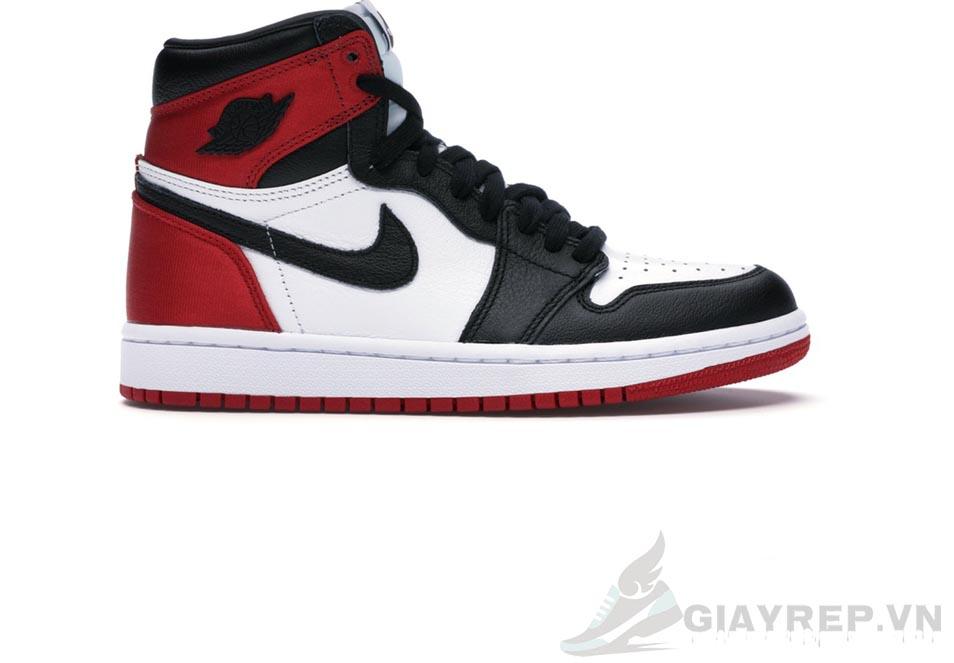 Giày Nike Air Jordan 1 Retro High Satin Black Toe 1