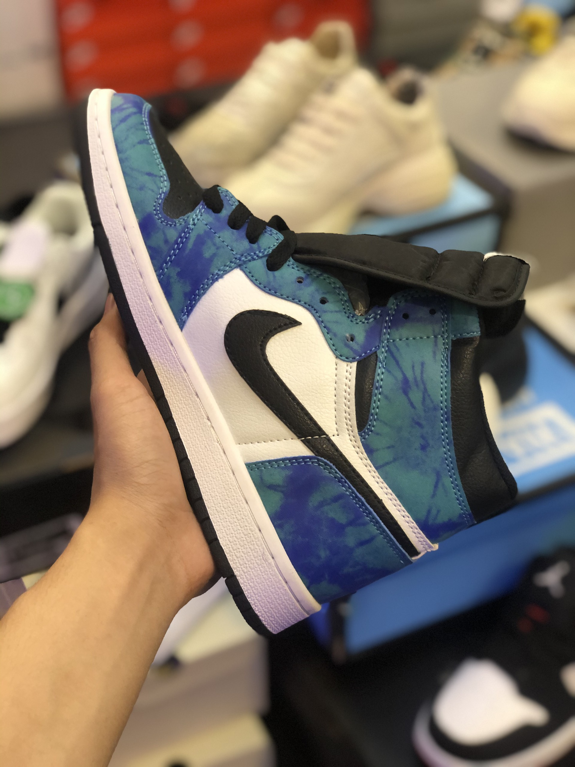 Giày Nike Air Jordan 1 Retro High Tie Dye